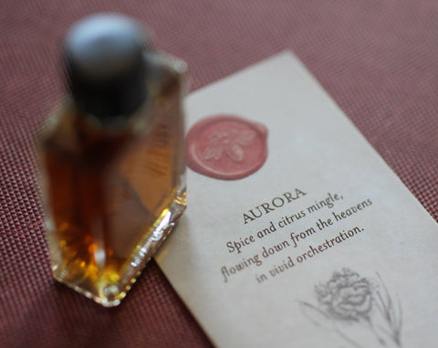 Aurora Botanical Perfume 4 grams in Classic Bottle