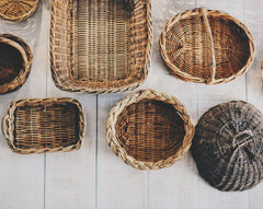 Basket Weaving With Locally Foraged Plants