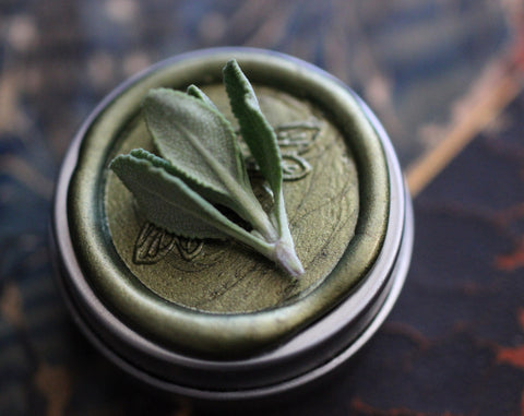 Chaparral Solid Natural Perfume Round Tin