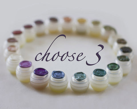 Solid Perfume Sample Set of Three