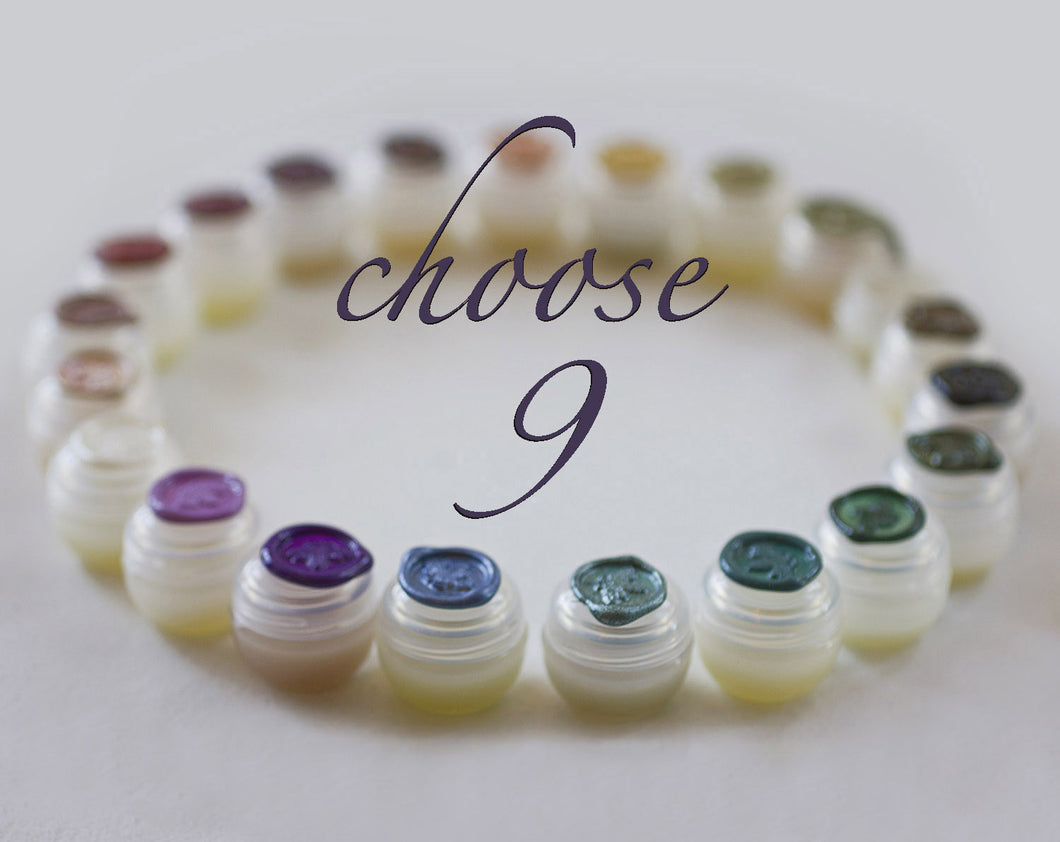 Solid Perfume Discovery Set of Nine