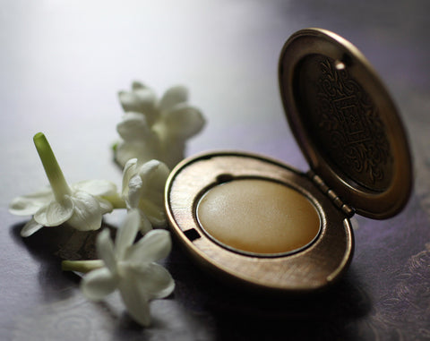 Cimbalom Natural Solid Perfume Mini Compact