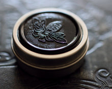 Load image into Gallery viewer, Figure 1: Noir Solid Perfume in Round Tin