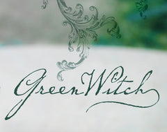 GreenWitch Solid Natural Perfume Round Tin