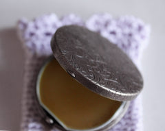 Gracing the Dawn Solid Natural Perfume Round Case