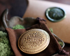 GreenWitch Solid Perfume Mini Compact