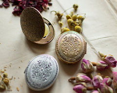 Aurora Solid Natural Perfume Mini Compact