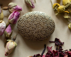 Solid Natural Perfume a Vintage Inspired Mini Compact