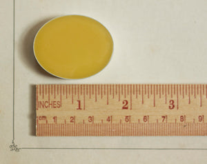 Q Solid Natural Perfume in Oval Case
