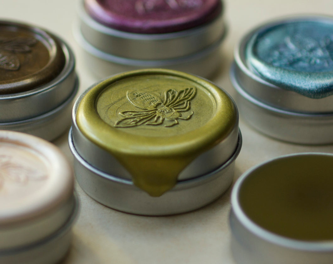 Impromptu Solid Natural Perfume in Round Tin