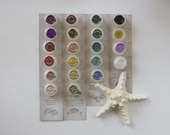 Solid Natural Perfume Sample Set of Five