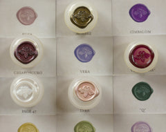 Solid Perfume Sample Set of Nine