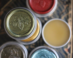 Figure 10: Blanc Solid Perfume in Round Bee Tin
