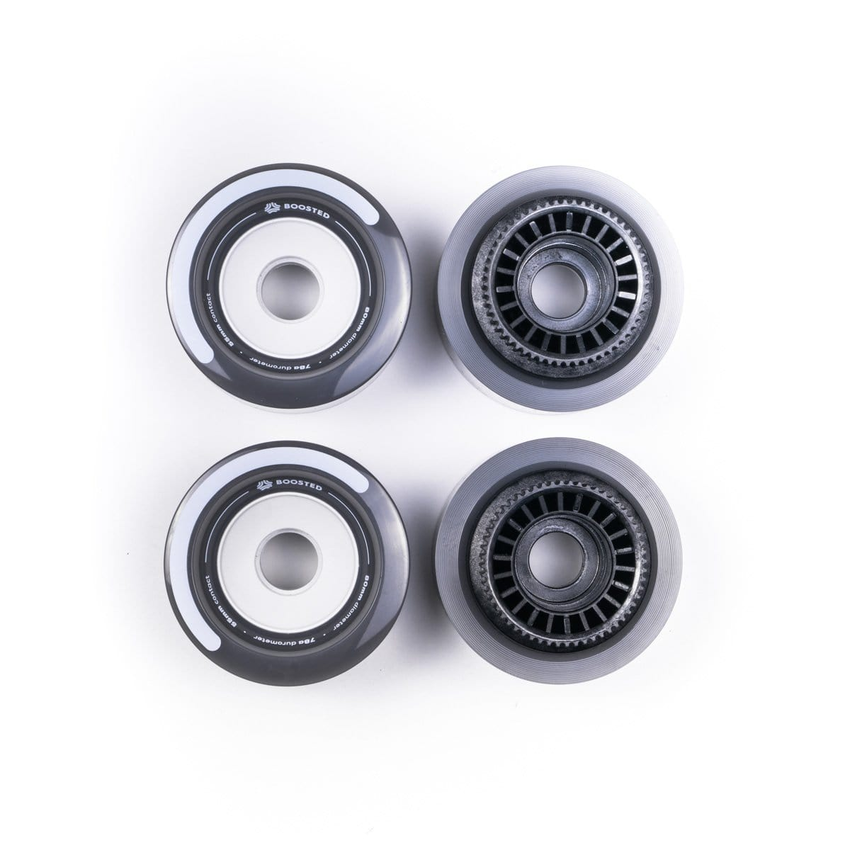 Boosted Lunar Wheels - 80mm - Grey