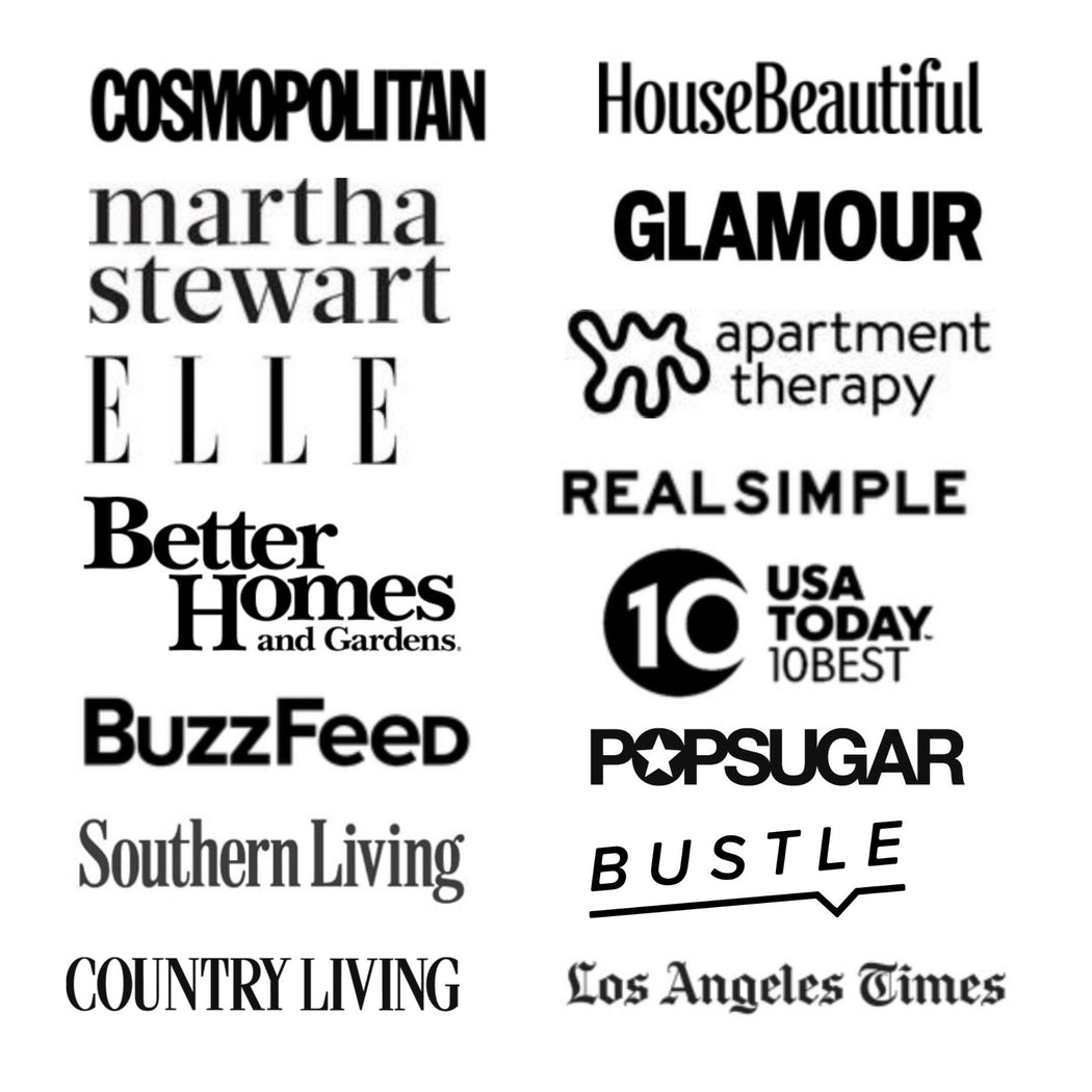 Press Outlets that have featured Tierra Sol Studio - Cosmopolitan, HouseBeautiful