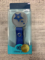 Classy Paci VIVID Shooting stars design in several color options pacifier clip