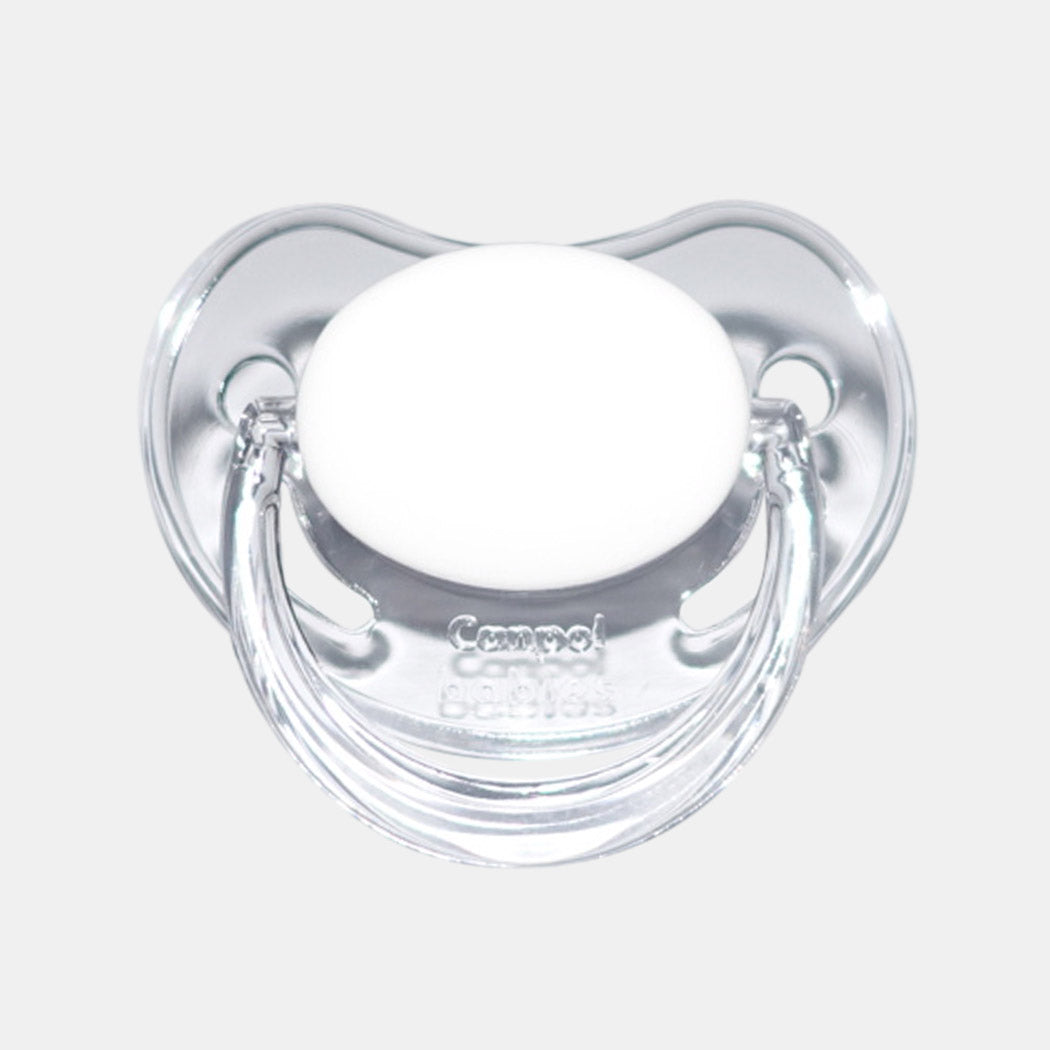 Clear Asymmetrical Pacifier (nuk like)