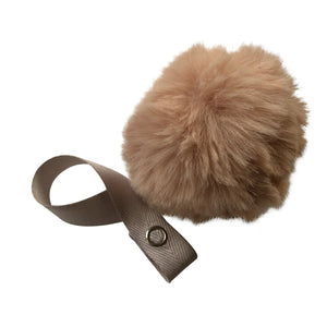 Blush Big Fur Pom Pom