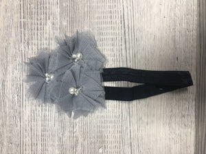 Tulle with rhinestone, pearl  Girl Headbands clearance