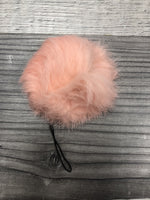 Fur keychain for camera / phone / pocketbook/ briefcase Medium 2""