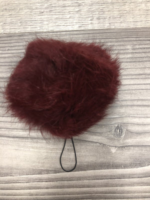 Fur keychain for camera / phone / pocketbook/ briefcase Big 3""