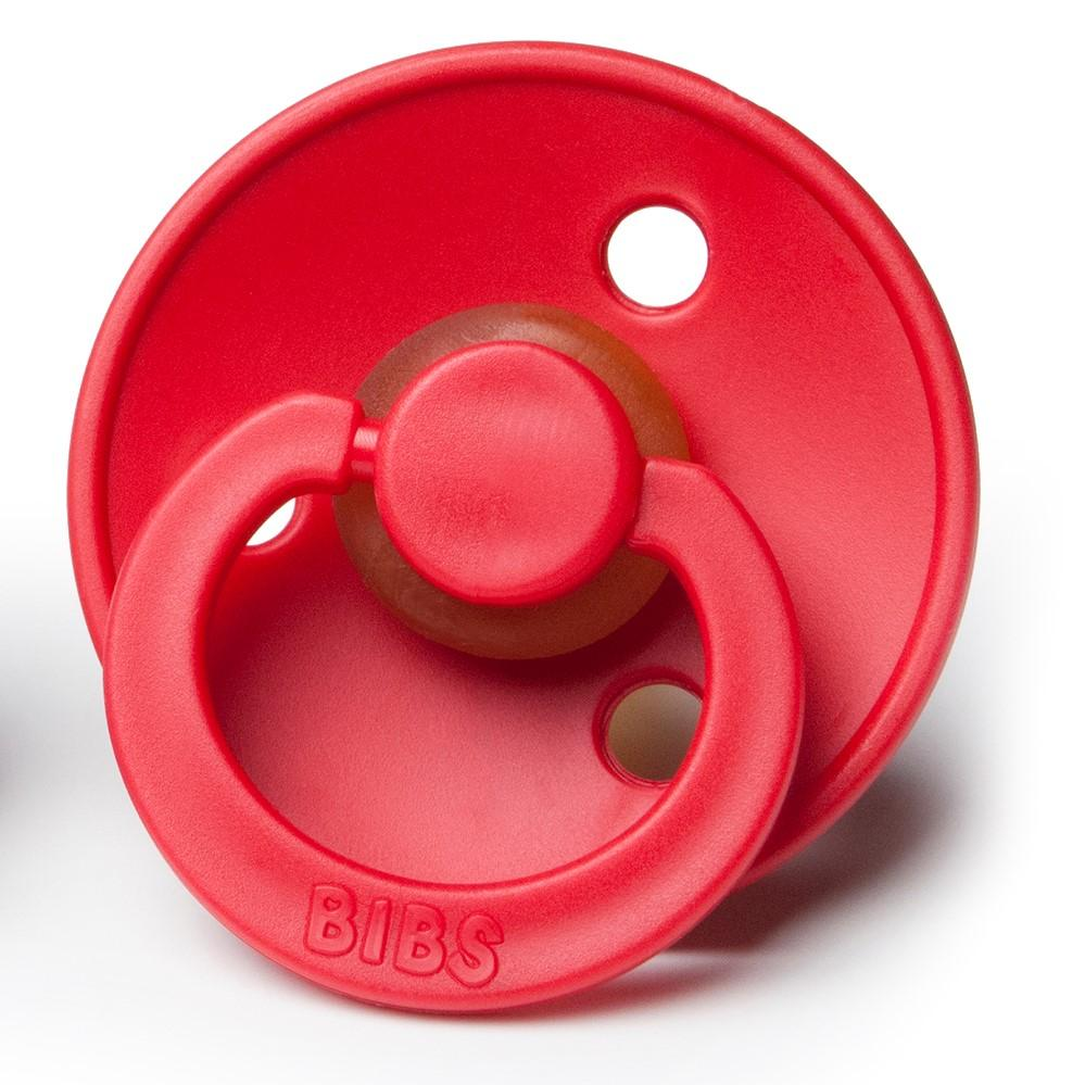 Bibs Pacifier Strawberry - Red