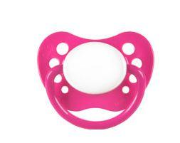 Assymetrical pacifier sale clearance 6+ size