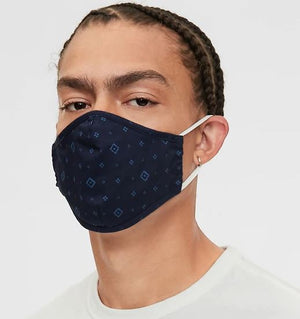Denim / Solid Masks Adults and Kids can be personalized