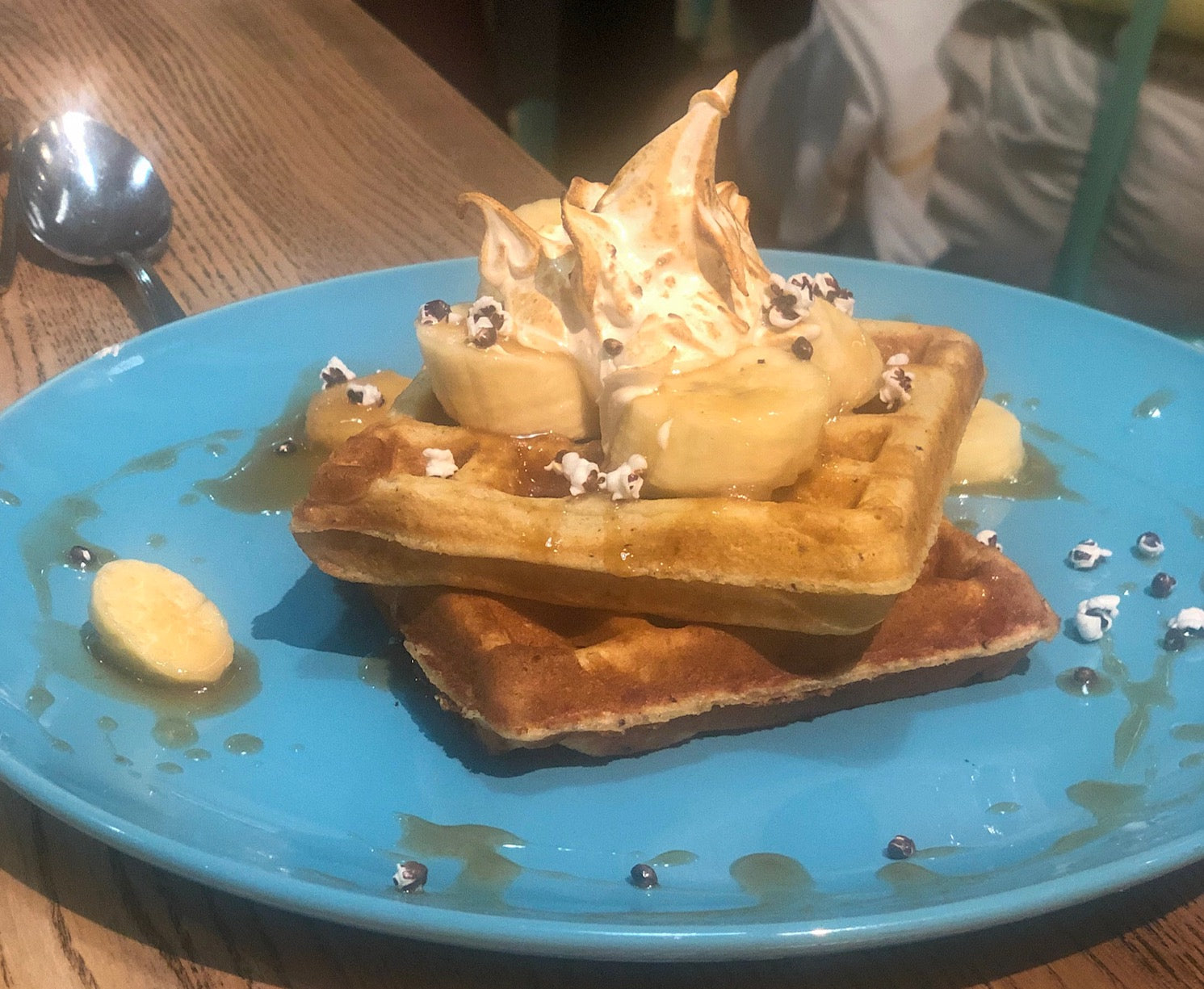 Millers All Day waffles