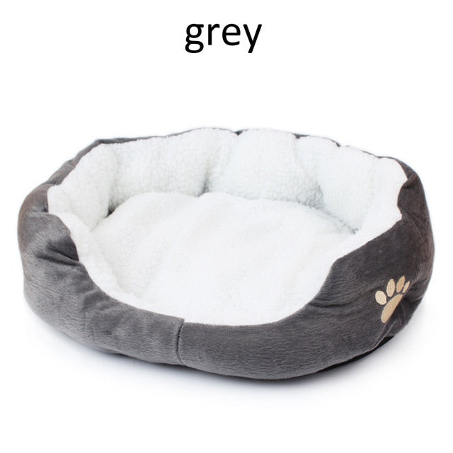40x50cm Cat Bed Soft Comfortable Cutton Dog House Fall And Winter Warm Cats Dog Sleeping Bag Nest Kennel Nest Pet Products
