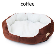 Load image into Gallery viewer, 40x50cm Cat Bed Soft Comfortable Cutton Dog House Fall And Winter Warm Cats Dog Sleeping Bag Nest Kennel Nest Pet Products