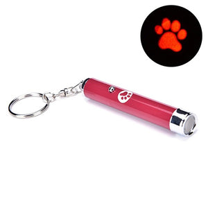 Pet Cat LED Laser Creative Funny Kitten Train Pointer Light Pen Interactive Bright Animation Mouse Shadow Infrared Stick Toy