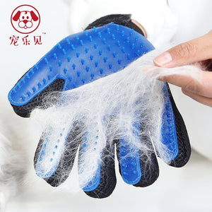 Pet Grooming Glove Brush Silicone Dog Cat Pet brush Glove Cat cleaning Cat Grooming Glove Dog Bath Supplies Pet Glove combs