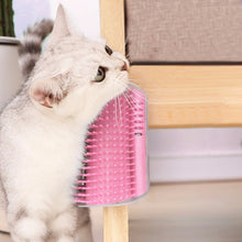 Load image into Gallery viewer, Pet Comb Removable Cat Corner Groomer Scratching Rubbing Brush Pet Hair Removal Massage Trimming Pet Grooming Cleaning Supplies