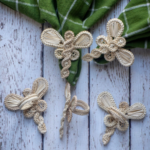 Iraca Dragon Fly Napkin Ring