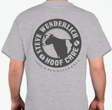 Load image into Gallery viewer, SWHC T-Shirt - HOOVE HEARTED? - NEW LOGO