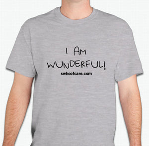 """I AM WUNDERFUL!"" T-SHIRT"