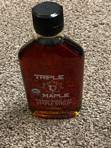 TRIPLE-D MAPLE SYRUP (BOURBON BARREL AGED) - 200ml