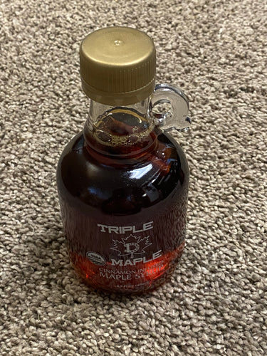 TRIPLE-D MAPLE SYRUP (CINNAMON INFUSED) - 250ml