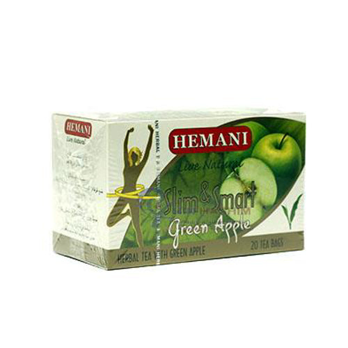 HEMANI SLIM TEA 40GM GREEN APPLE (4736730726485)