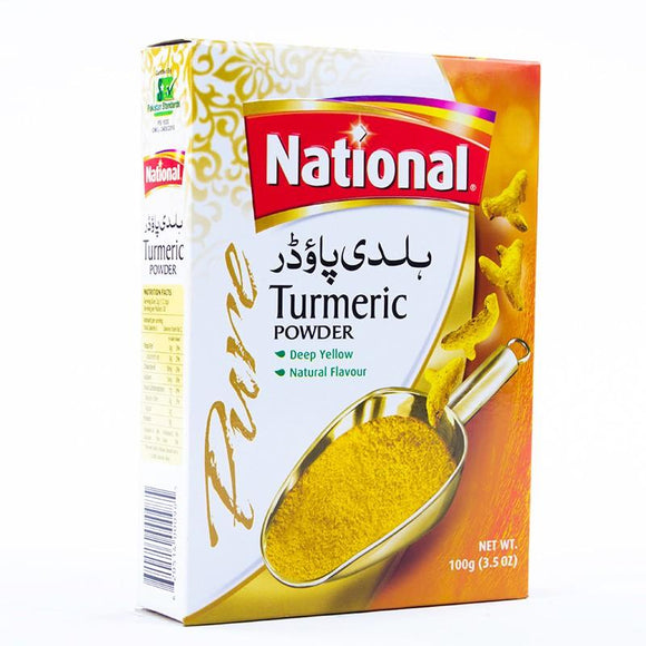 National Turmeric Powder 100gm (4611883696213)