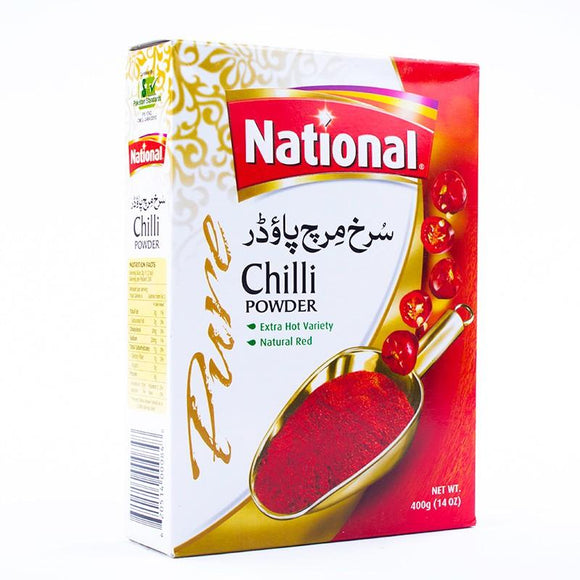 National Chilli Powder Pisi Lal Mirch 400gm