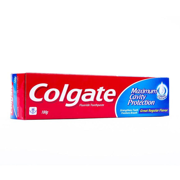 Colgate Maximum Cavity Protection ToothPaste 100gm (4611952377941)