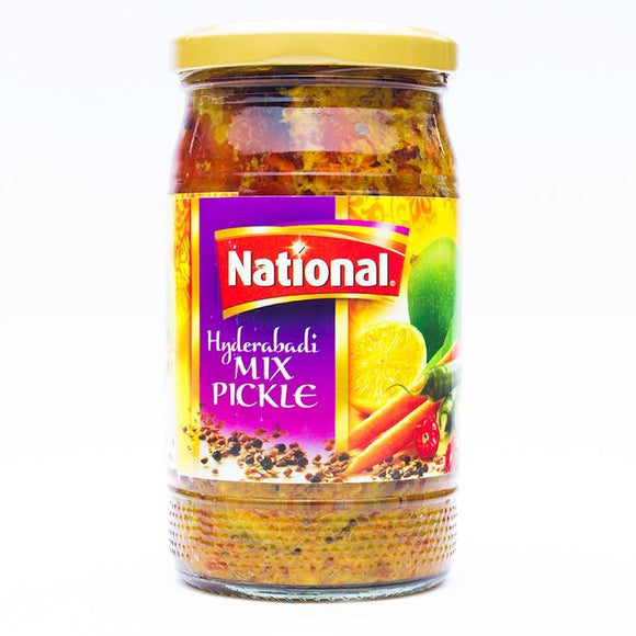 National Hyderabadi Mix Pickle 320gm (4611884908629)