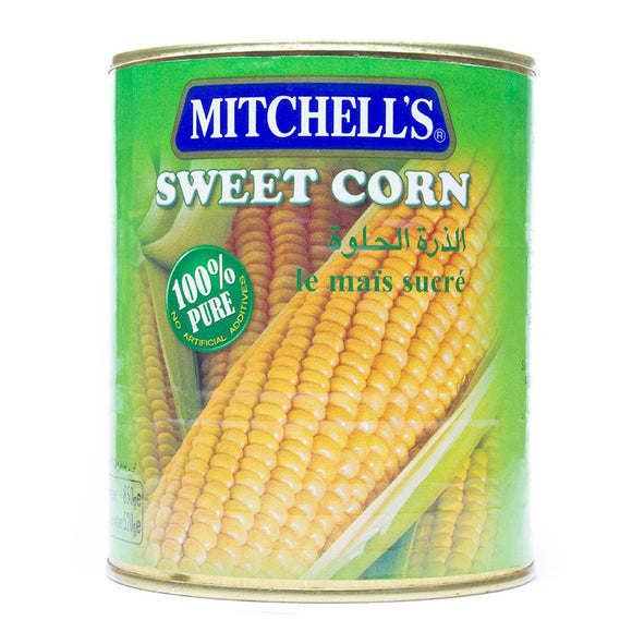 Mitchell's Sweet Corn 850gm