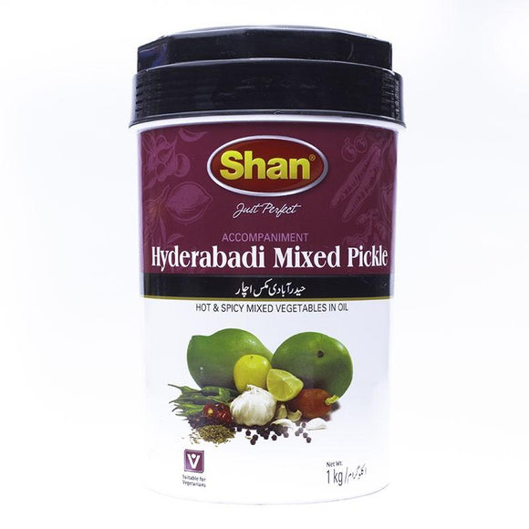 Shan Hyderabadi Mix Pickle Jar 1kg (4611868360789)