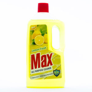 Max Lemon Fresh All Purpose Cleaner 1Ltr