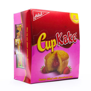 Pack of 12 Hilal Strawberry Cup Kake (4611823435861)