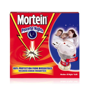 Mortein Peaceful Nights LED Complete Set (4611916169301)