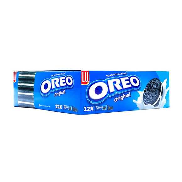 Pack of 12 LU Oreo Sandwich Biscuit Original Bar Pack